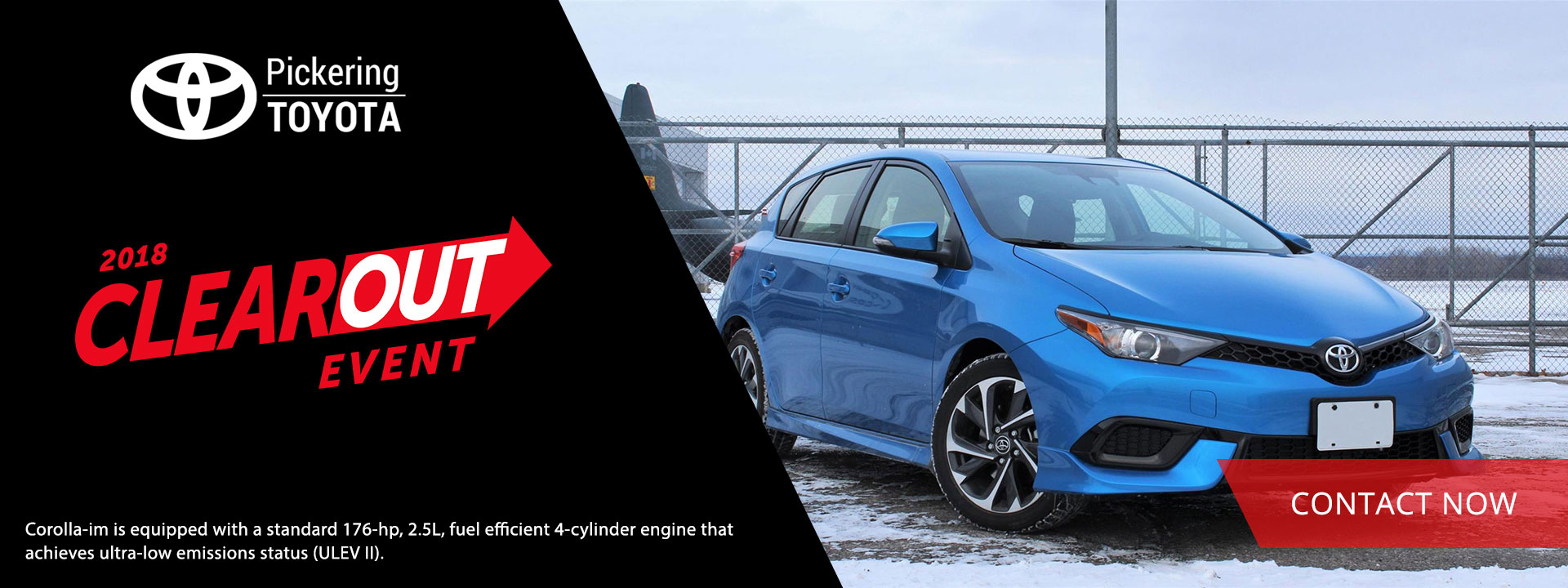 2018 Toyota Corolla-IM Clear Out Event Prices | Pickering Toyota
