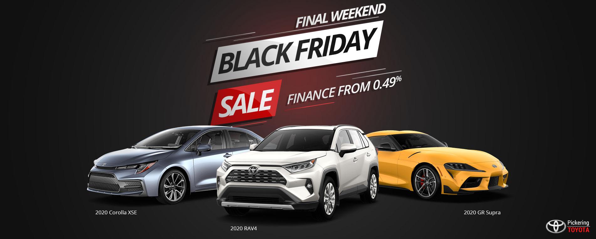 Black Friday Sale Pickering Toyota