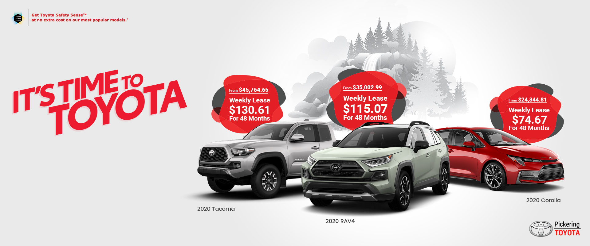 Toronto Car Sales >> Best Toyota Car Dealer In Toronto Canada Pickering Toyota