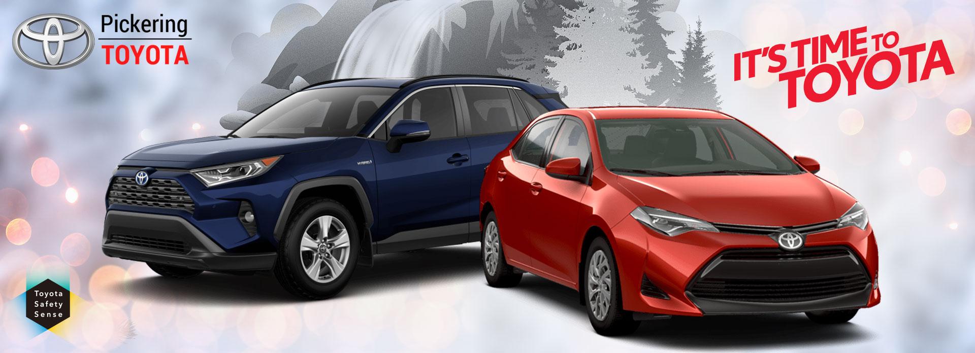 TOYOTA 2019 Get In & Go Event   Pickering Toyota