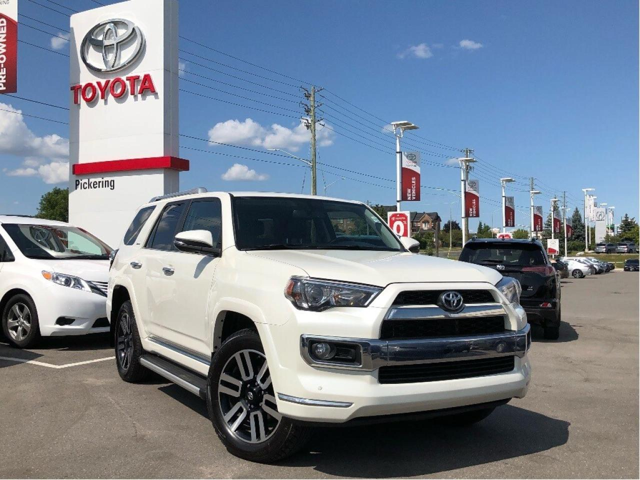 New Vehicles 2017 >> Used Toyota 4runner On Sale Pickering Toyota