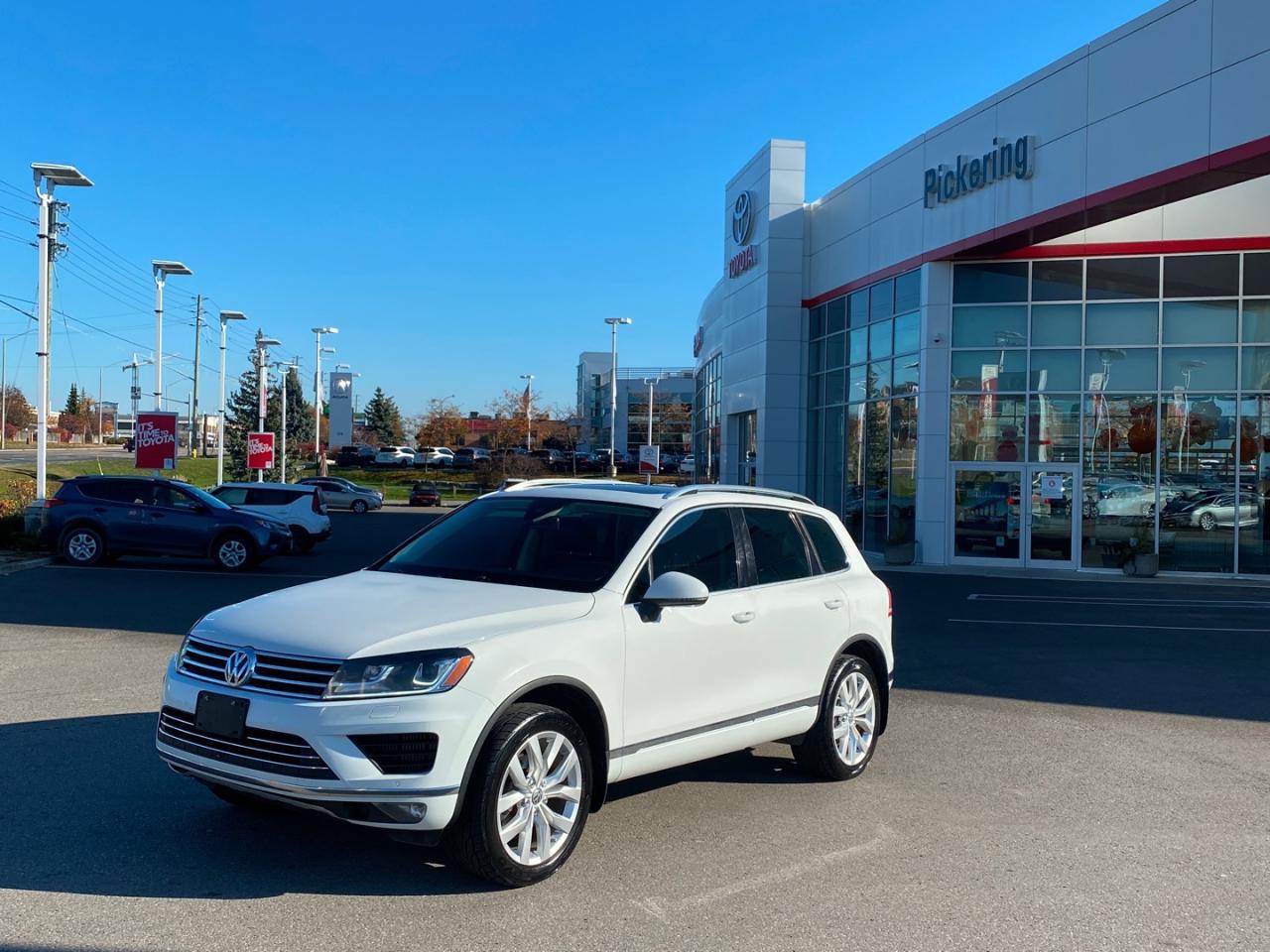 Used Volkswagen Touareg On Sale Pickering Toyota